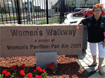 Women's Walkway at Canalside in Buffalo